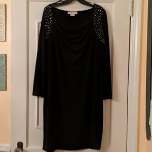 Black dress with sequin Michael kors 1X